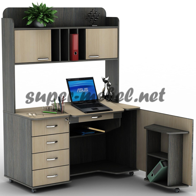 Компьютерный стол су-15 (люкс) шостка купить по низкой цене .