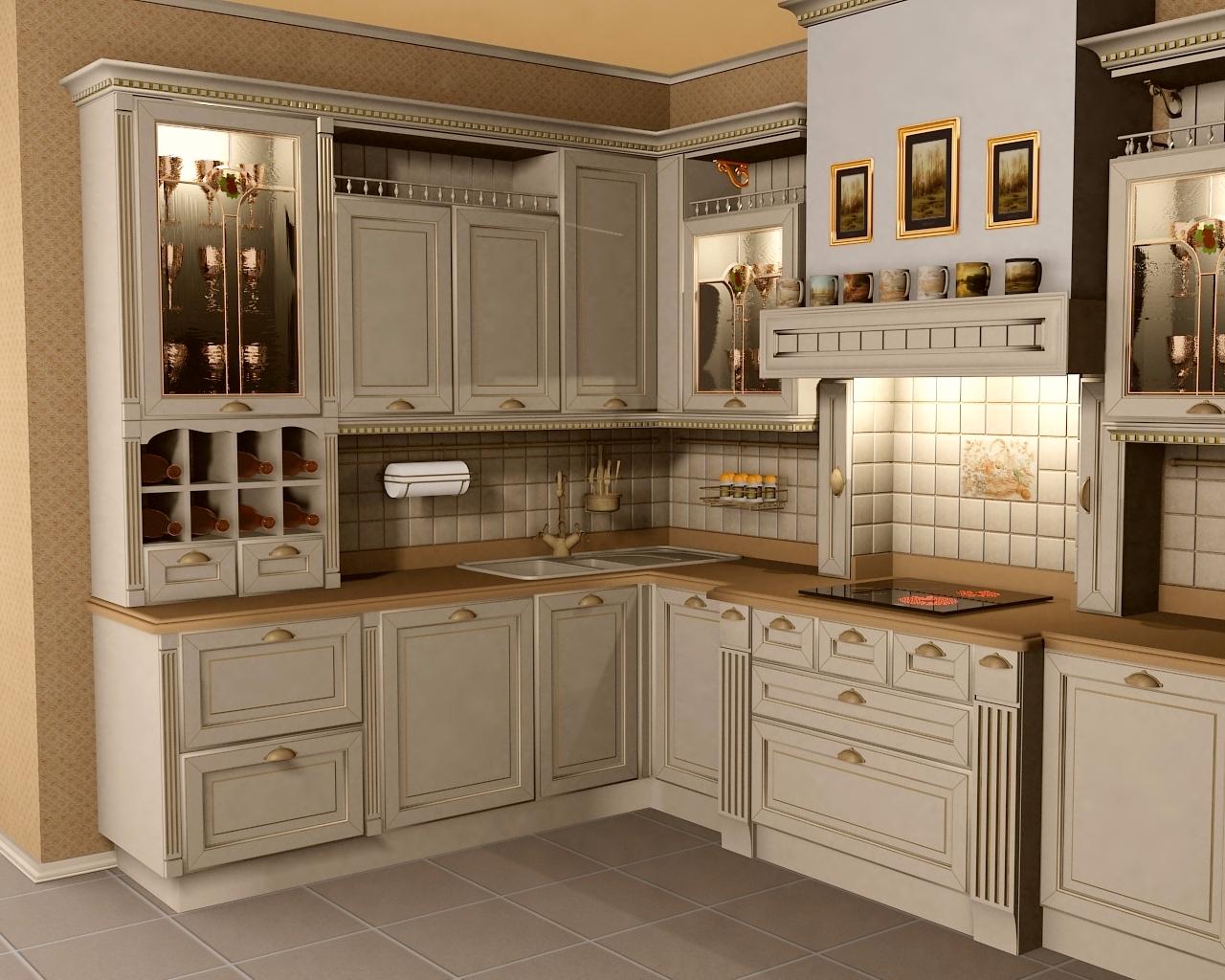 Картинки по запросу кухня классика