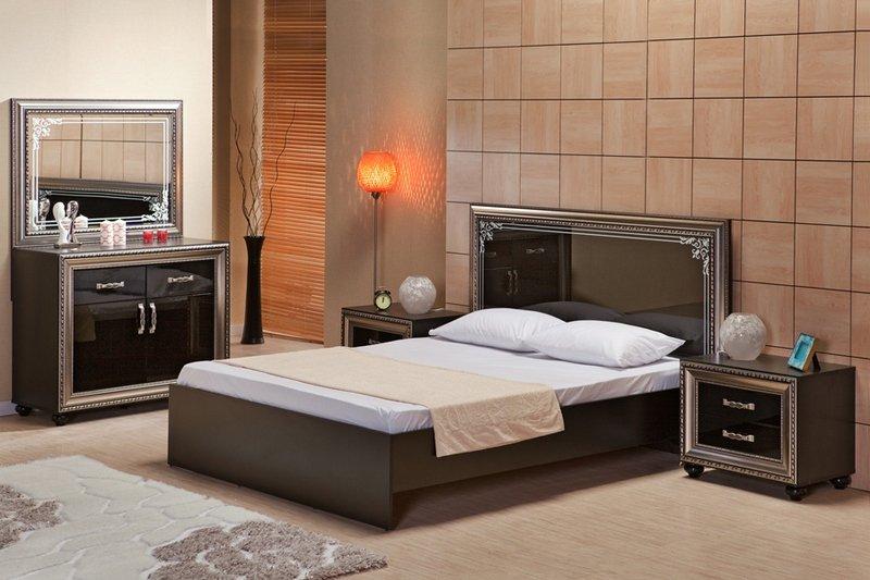 спальни мдф интернет магазин супер мебельспальня элизабет чёрная