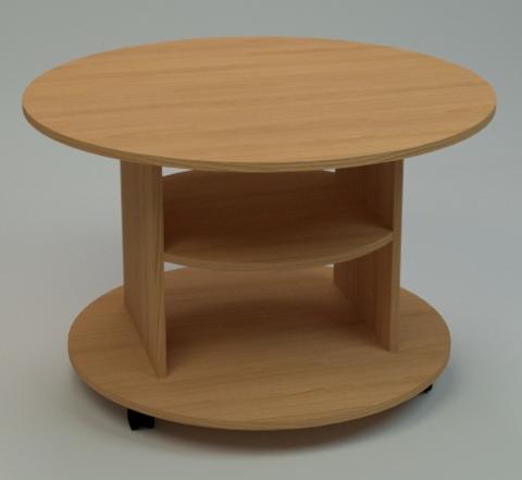 Круглый стол на колесиках своими руками 47